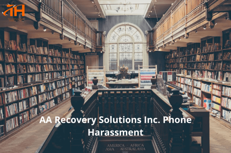 Is AA Recovery Solutions Inc. calling too much?
